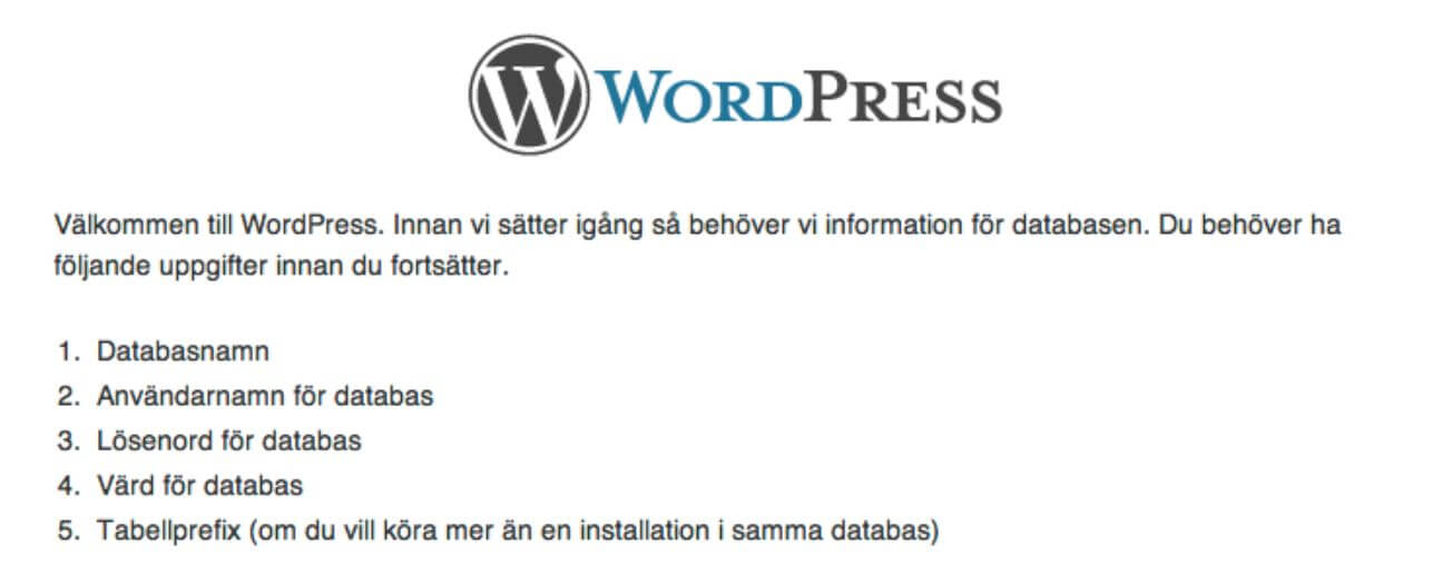 Lär dig installera WordPress 2