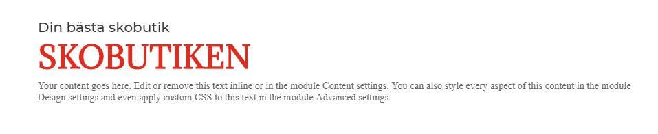 Så fixar du snygga rubriker i Divi och Wordpress 4