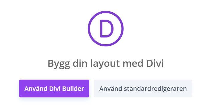 Kom igång med Divi på Elegant Themes webbplats 1