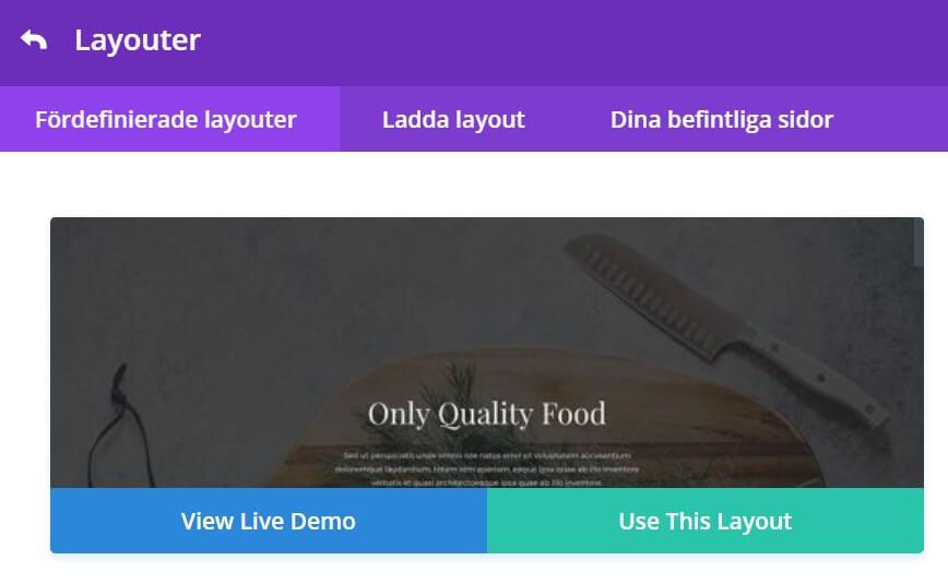 Kom igång med Divi på Elegant Themes webbplats 3