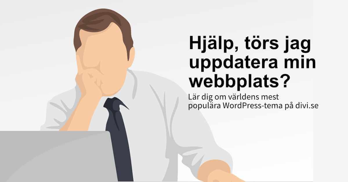 Guide för att uppdatera din webbplats